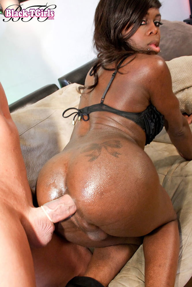 Horny blonde shemale getting butt fucked in this double cumshot episode