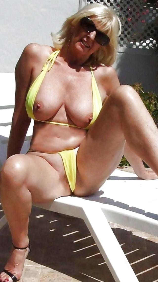 Pin on mature bikini