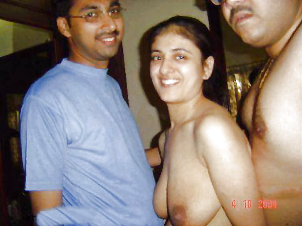 Indian married women nude with her husband