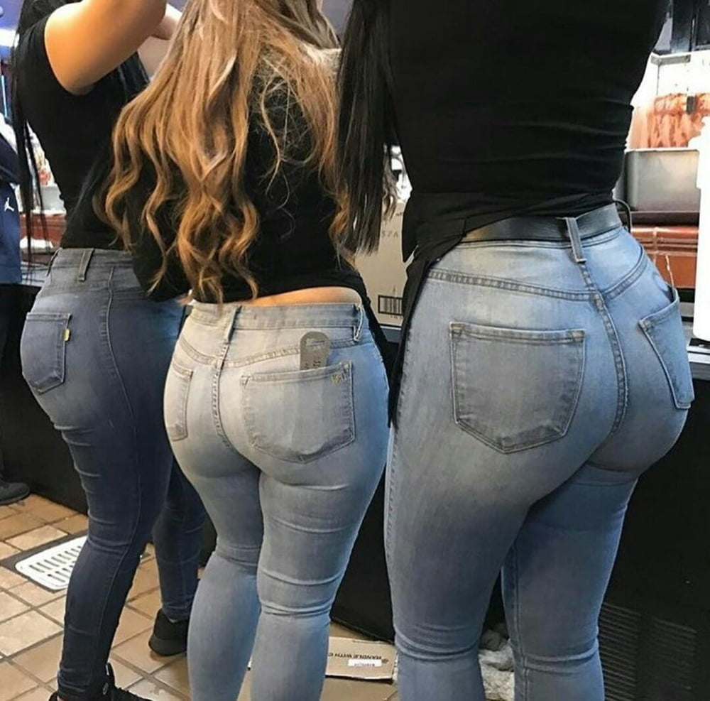 Big ass in jeans sexy — photo 5