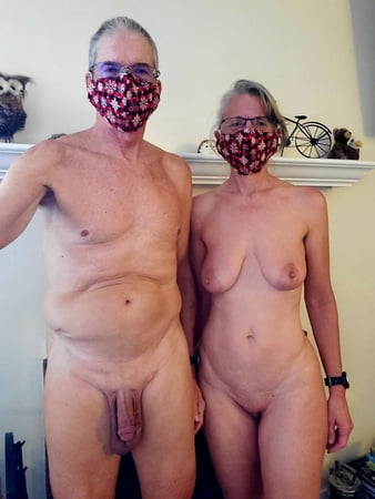 Paar privat nackt