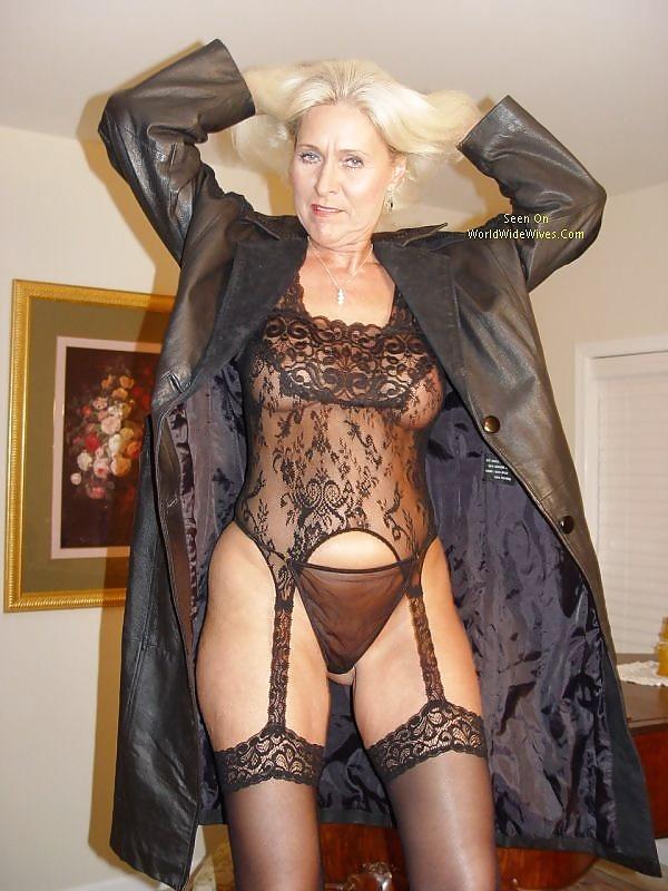 Sexy older ladies panties
