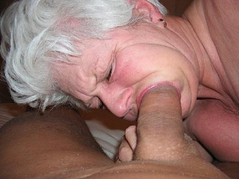 Grandma Sucking Grandsons Cock Huge