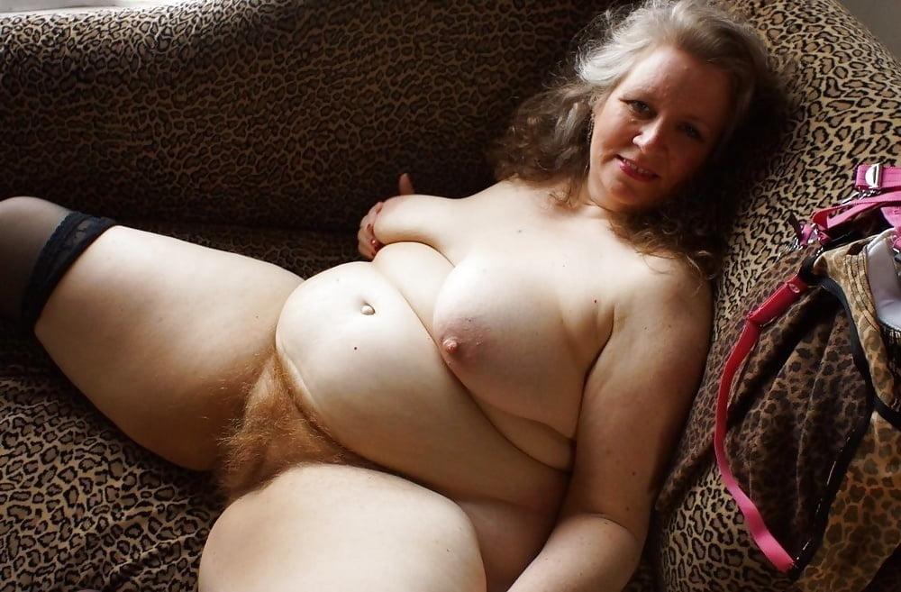 Chubby hairy nude women