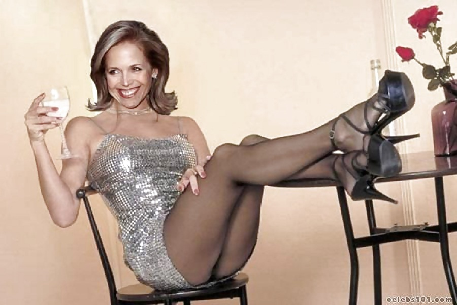 Katie couric's legs ny blondes