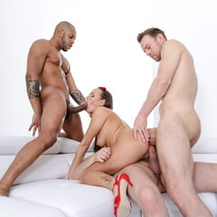 Triple Anal Penetration At AdultPrime