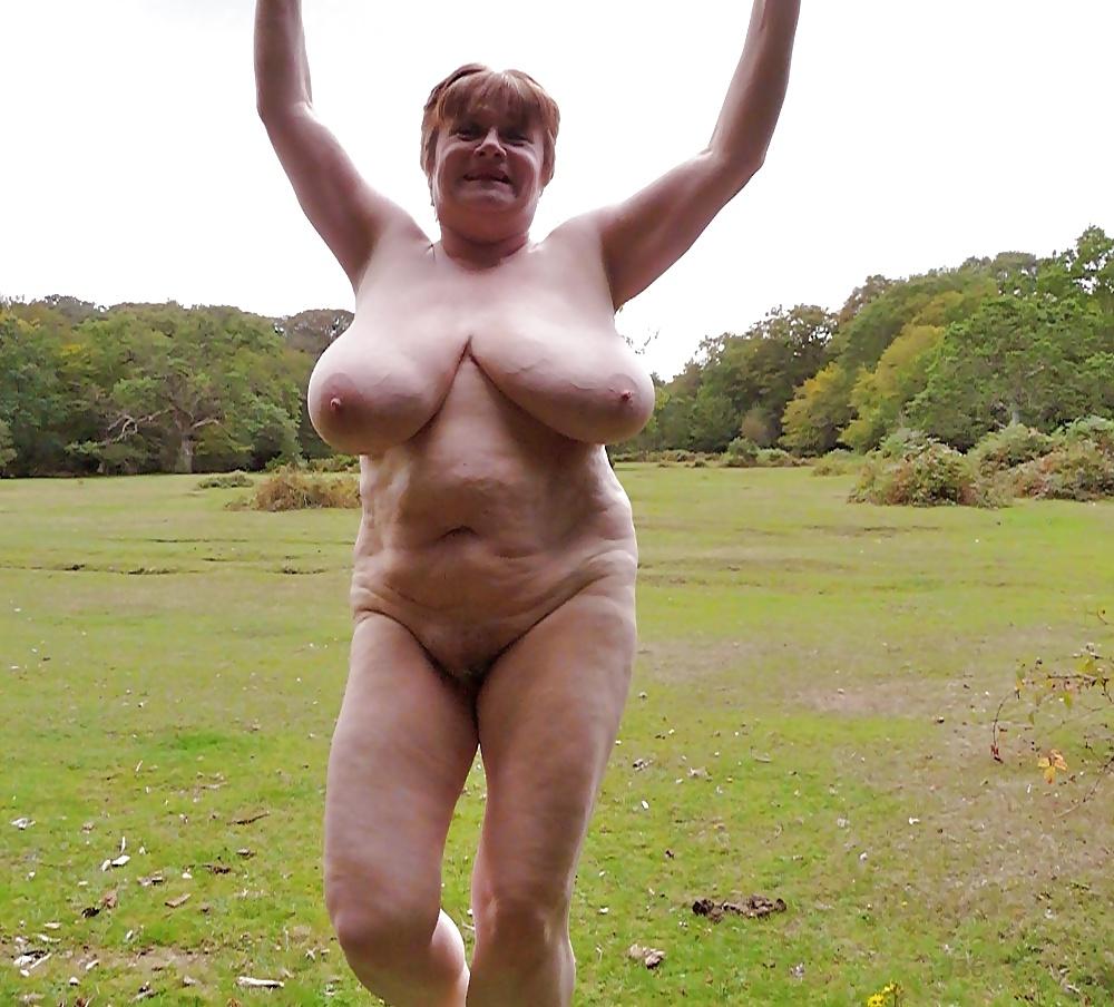 Grandmother nude — photo 13