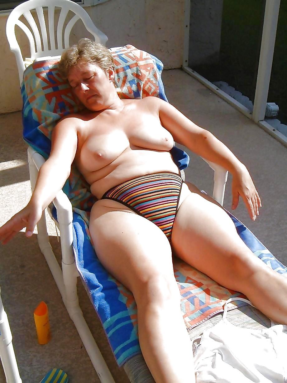 Mature Swimsuit