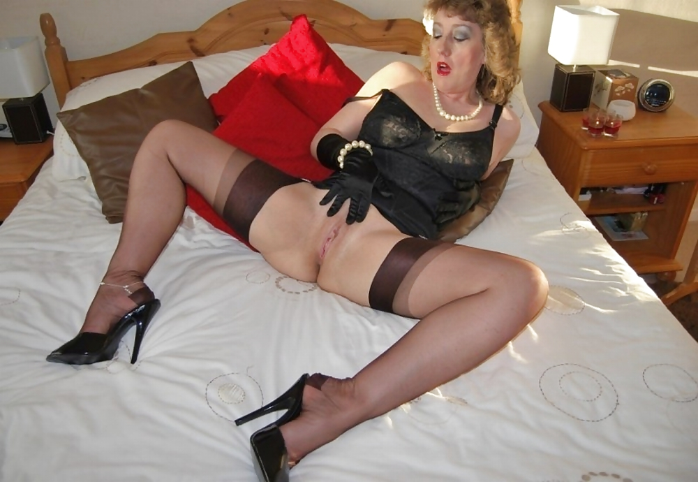 Mature in stockings you're always on my mind