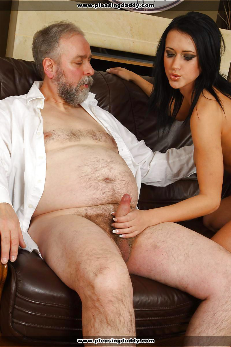 Chubby brunette porn star old man 9