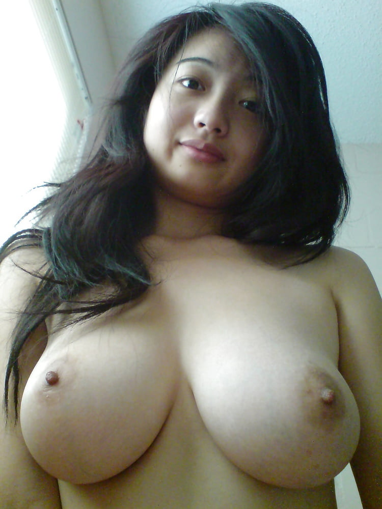 Asian girl with big tits