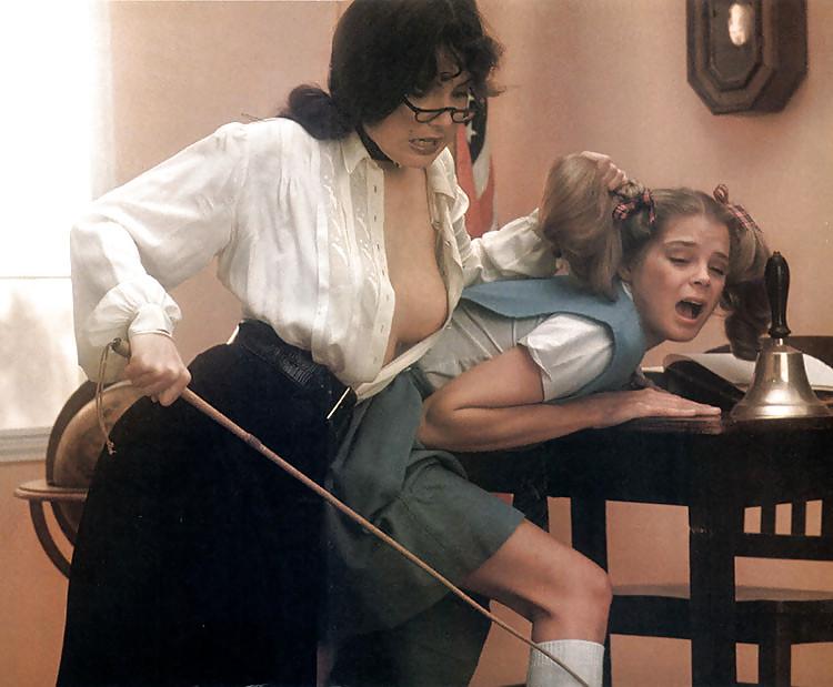 Naked teen spanking