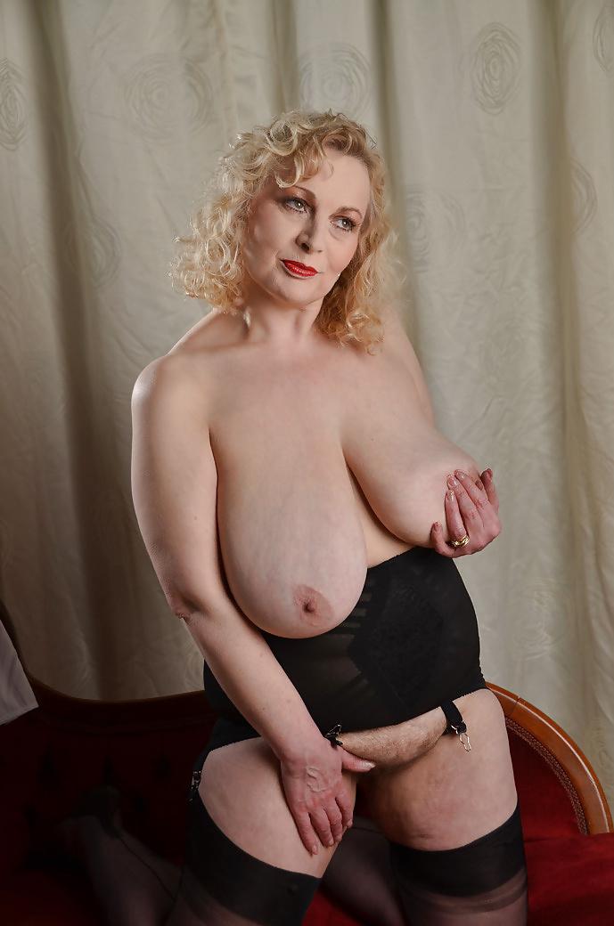 woman Busty chubby mature