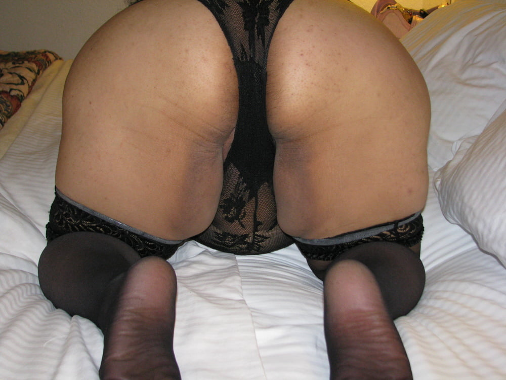 Sexy black lingerie pics