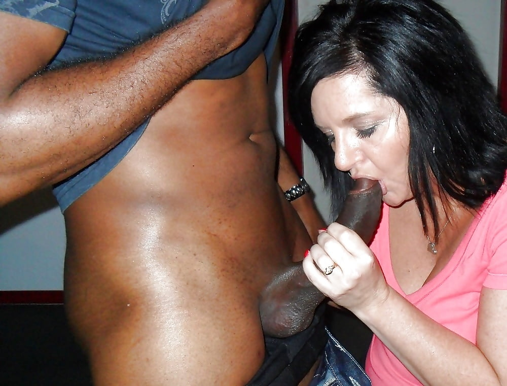 Amateur wife black cock