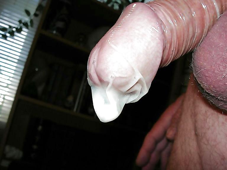 Сперма в гандонах фото