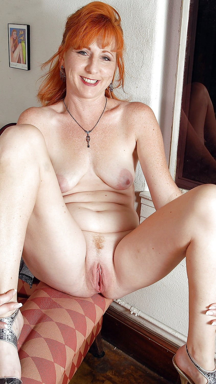 women-mature-redhead-creampie