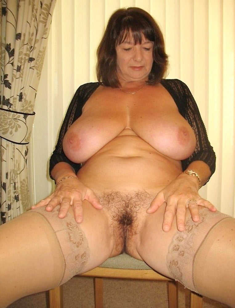 Big Tit Hairy Mature Solo