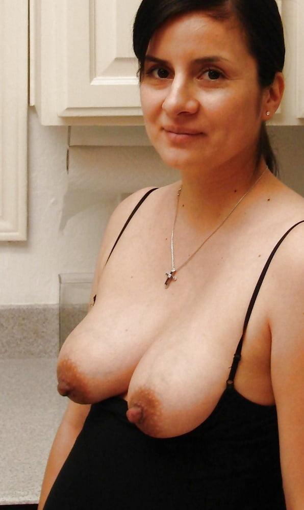 Nude brown mature nipples — 4