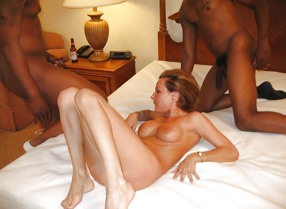 Redhead cheating by fucking with her black lover