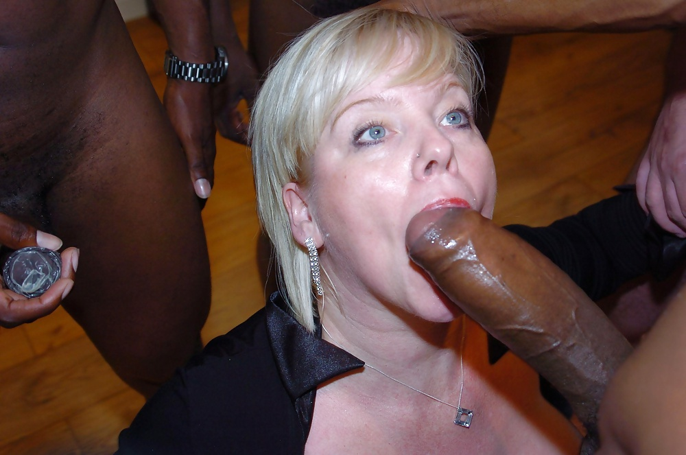 Milf gagging for cock