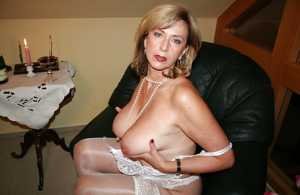 Hot mature ladies lingerie