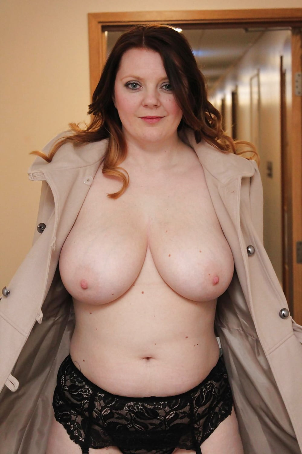 Busty Pale Chubby With Big Tits