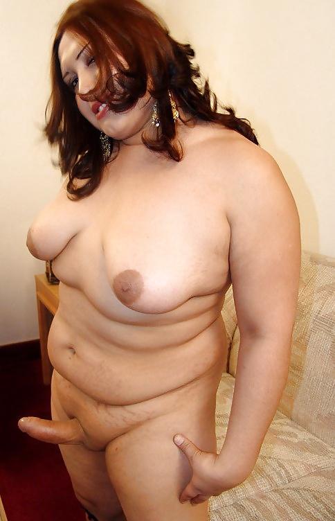 фото голых трансексуалок и толстых девушек - 12
