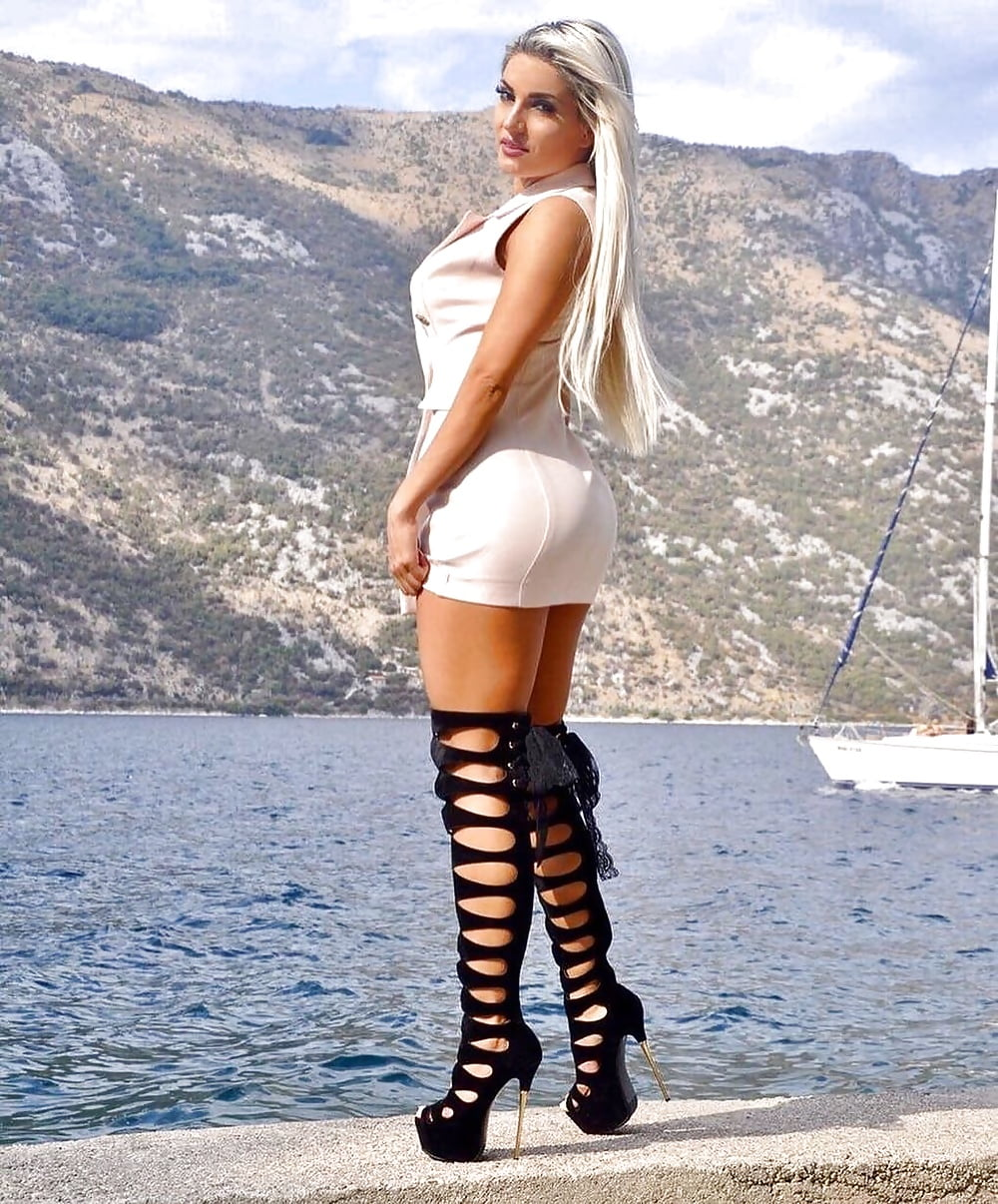 Serbian sexy politician vanja hadzovic's become big scandal in serbia, photos