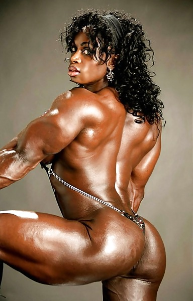 Muscle black action naked — photo 11