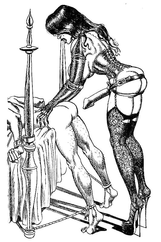 нарисованные голые женщины со страпоном должна научится