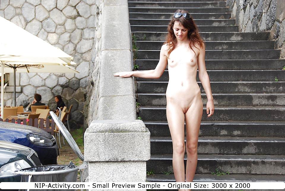Ursula flashing nude
