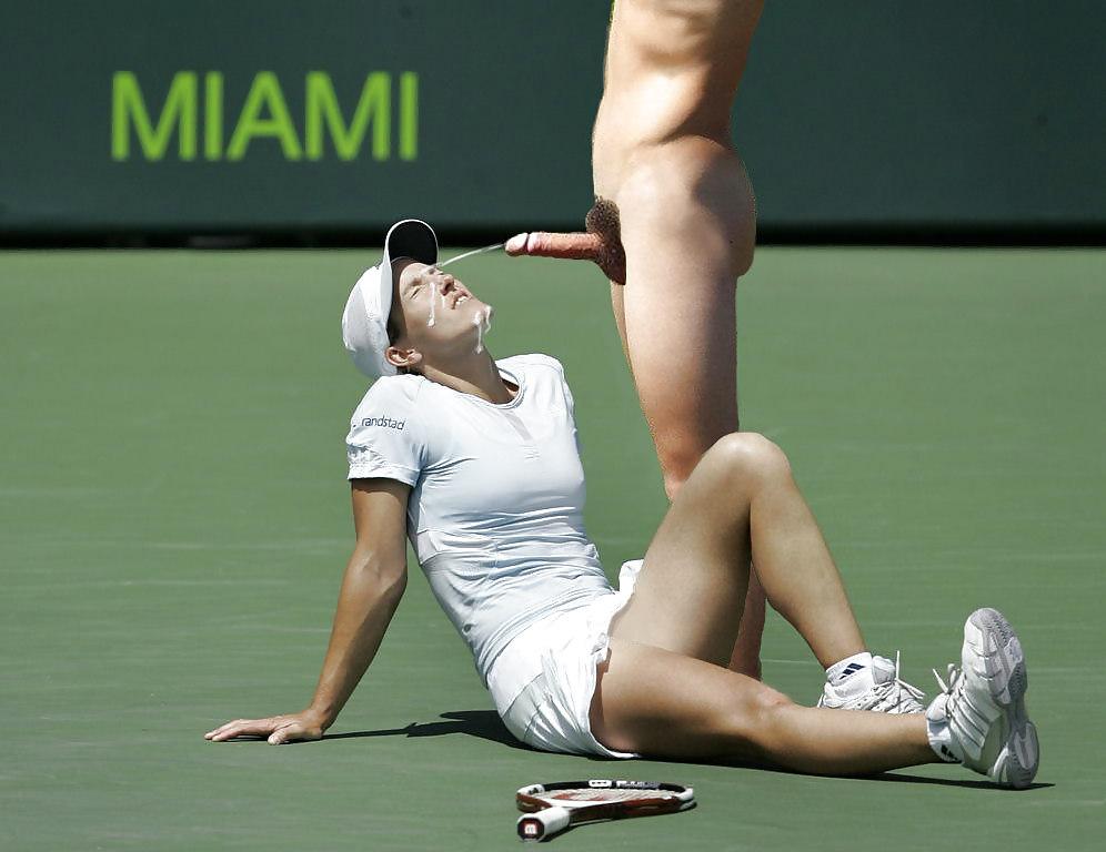 Tennis woman players nude free — photo 6