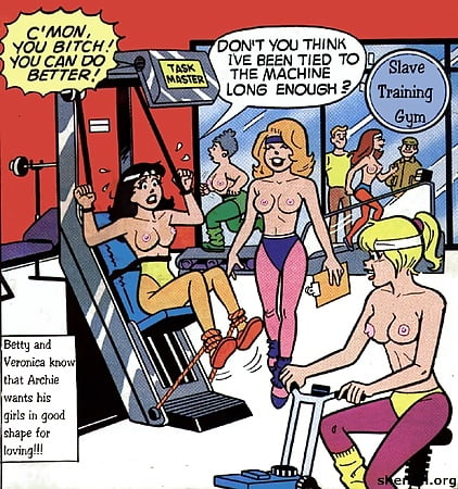 betty and veronica comics porn
