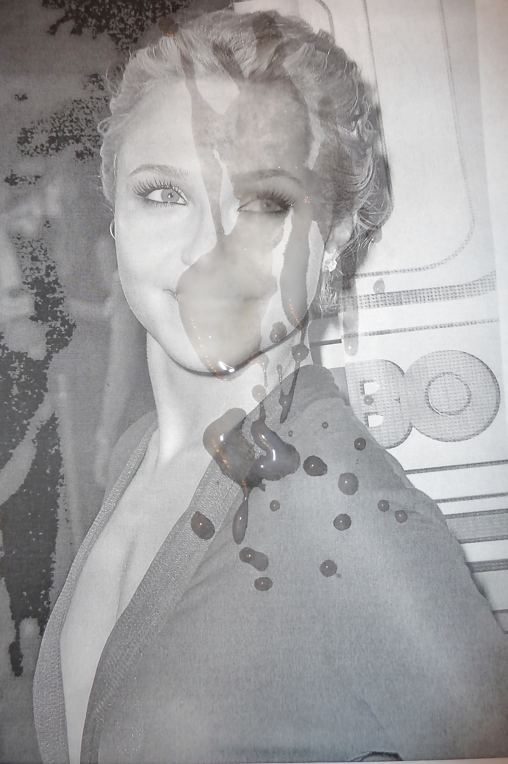 covered sperm in panettiere Hayden
