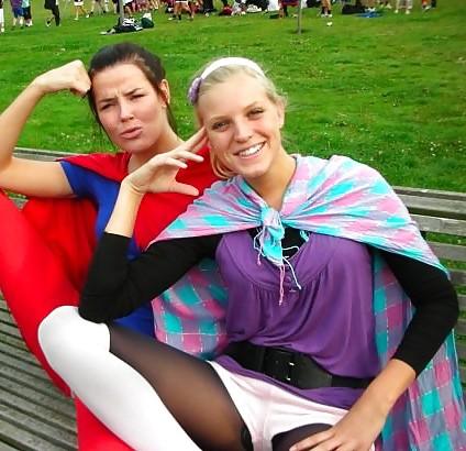 Danish teens-56-bra panties stomach party