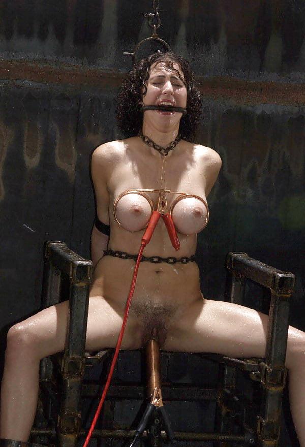 Extreme bdsm electric torture