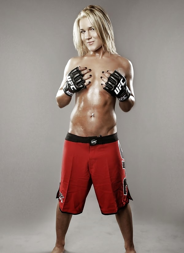 Female mma stars nude — photo 1
