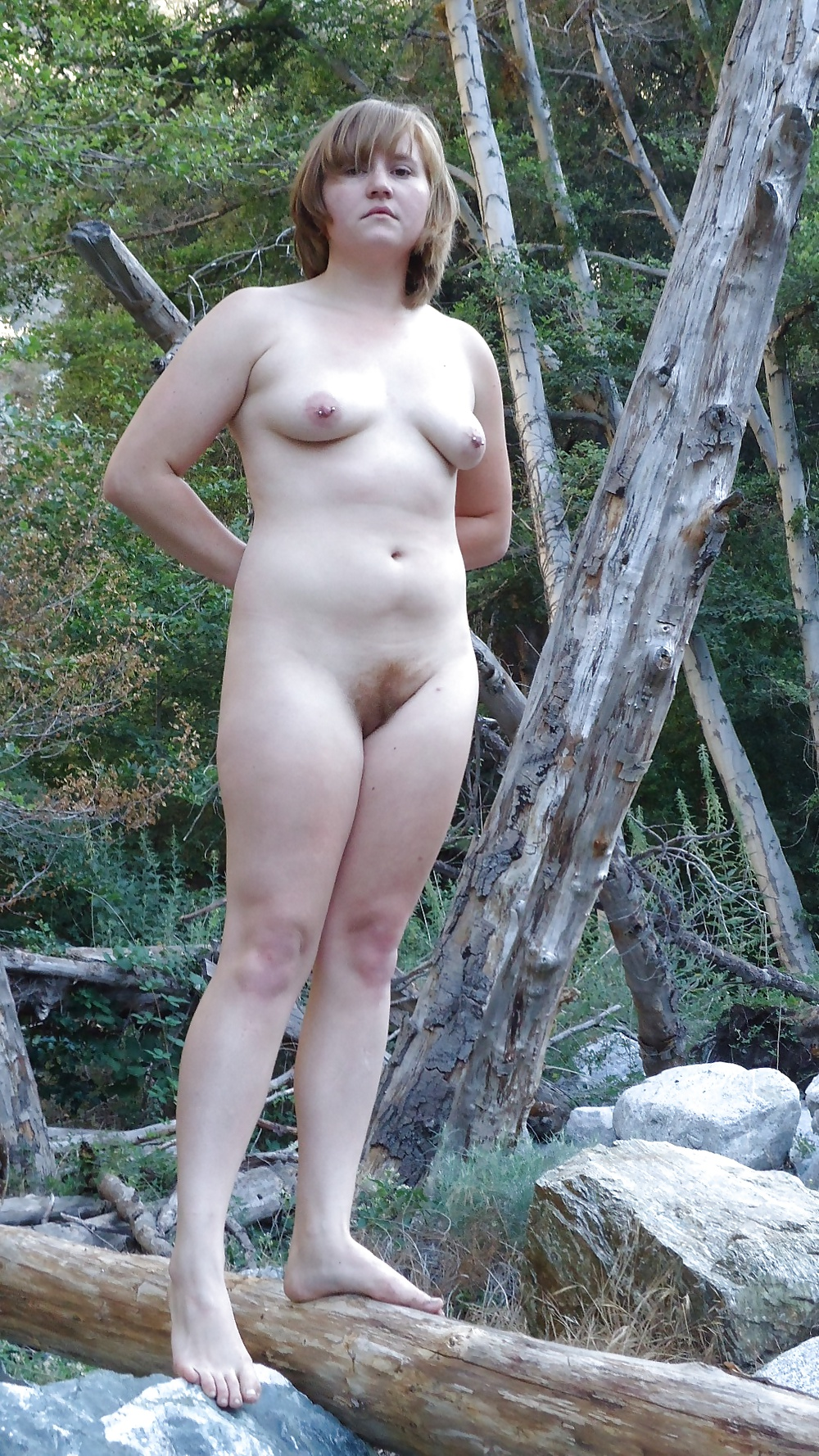 Charlotta nude in sex in the woods