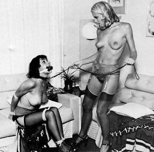 Vintage lesbian bondage comics