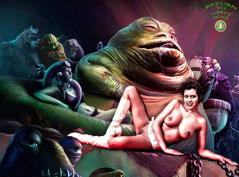 Images jabba leia nude with porn stars