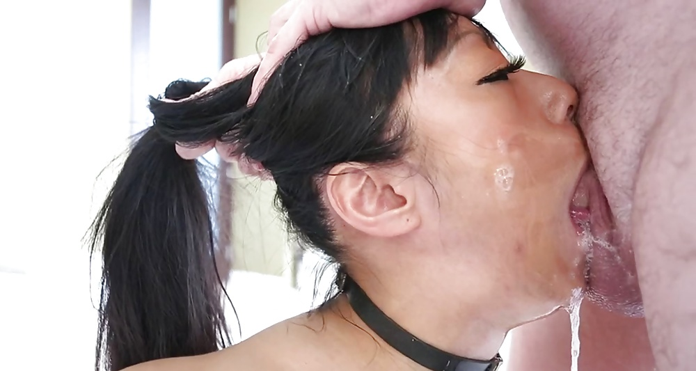 несколько глубокий минет азиаток со спермой если