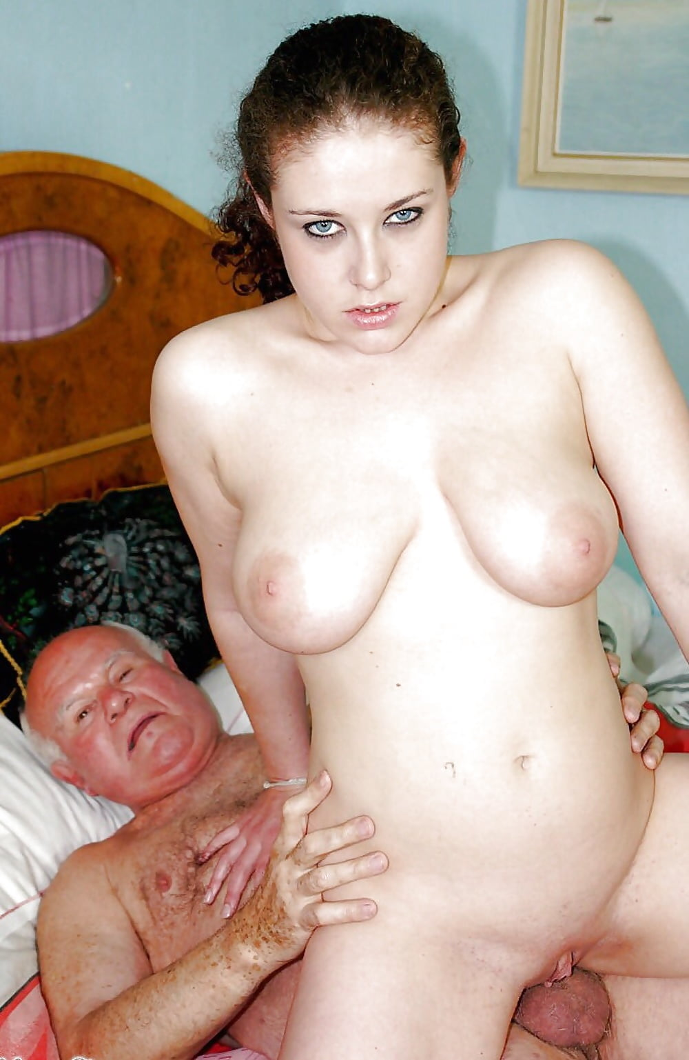 Older busty woman and young girls swap