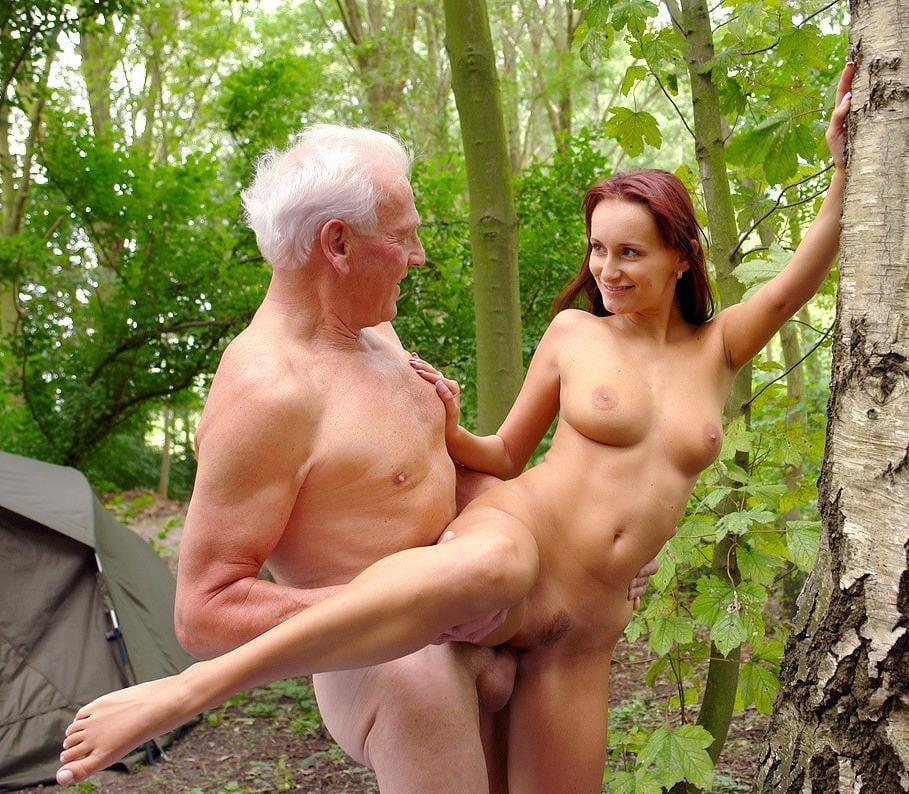 Attractive senior women nude