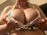 Super Busty MILF in Bikini Shows Off Big Boobs (2)