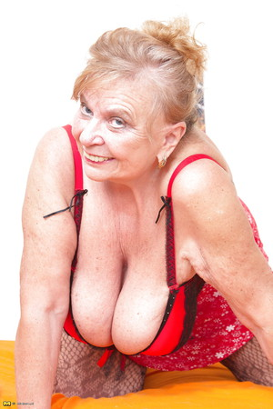 German Granny Big Tits