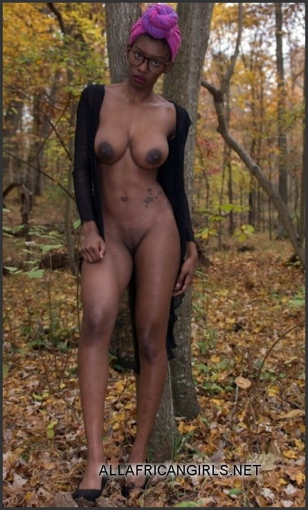African natural tits-6775