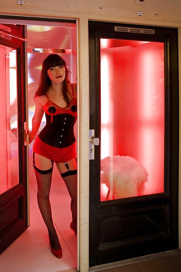 light amsterdam red Transvestite