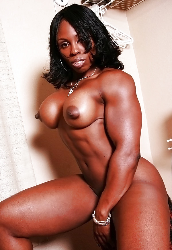 Mature black muscle women — photo 9