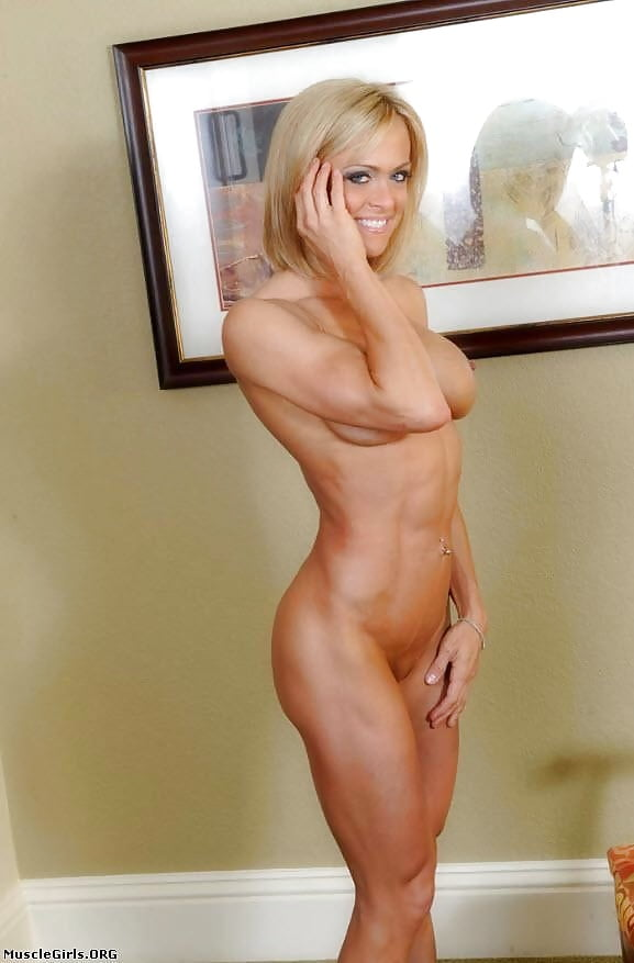 Blond muscle girls nude